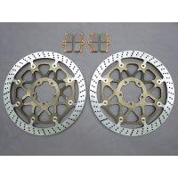 サンスター オメガレーシングディスク 330mm 6.5mm bremboモノブロック専用