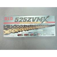 DID 525ZVM-X ゴールド ドライブチェーン