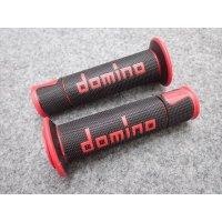 domino グリップ A450 レーシングタイプ  ブラック×レッド